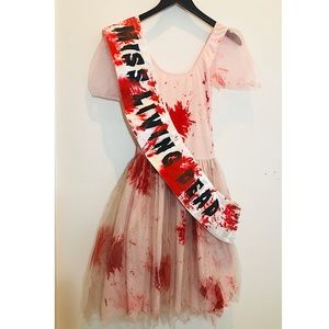 Miss Living Dead Zombie Pageant Costume Halloween